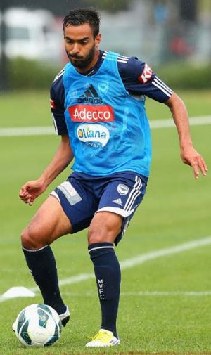 These days Marcos Flores drops deeper and is used more as a midfielder than a front man.