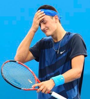 Bernard Tomic's support funding may be cut by Tennis Australia for the start of 2013.