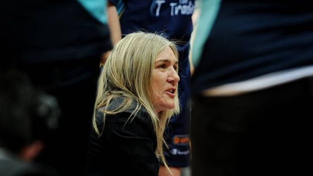 The Capitals are keen to hang on to coach Carrie Graf.