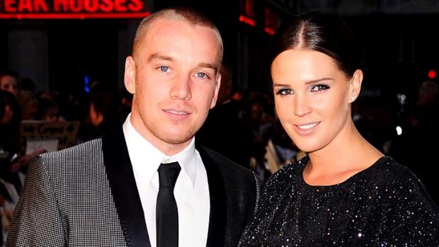 'Raging slut bag' ... Jamie O'Hara was forced to defend his model wife Danielle Lloyd earlier this year after she was ...