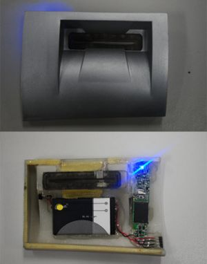 Skimming devices found on ATMs in Perth.