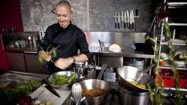 Choice menu … chef Simon Bryant says there are only two types of food - good and bad.