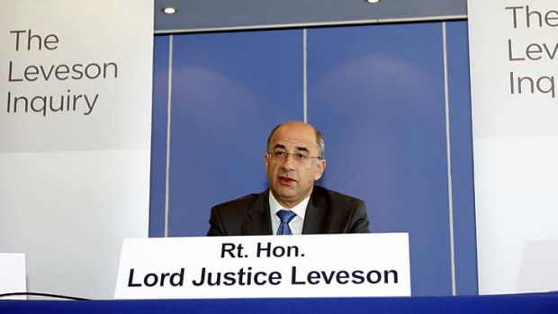 """""""The Leveson report argues that unethical media organisations can be brought into line by passing laws to ensure compliance."""""""