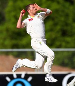 Back in action: Peter Siddle is in the squad to play Sri Lanka next week.