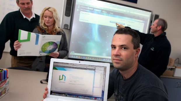Warrnambool College teachers on Education Department's ultranet training day.