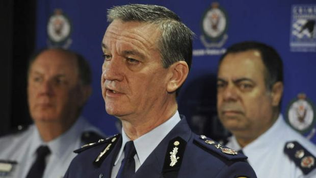 """This is the sort of man that no one can afford to lose from a modern police agency."" ... Andrew Scipione speaks at a ..."