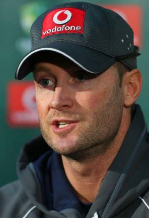 Australian Test captain Michael Clarke.