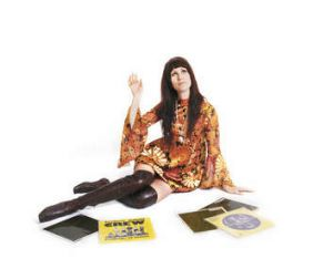 "Flower power … DJ Emma Peel's favoured vintage era is 1968-71. ""For me, dressing is like daily art, where you're the ..."