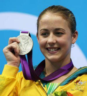 London silver medallist Brittany Broben.