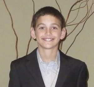 Luka Brucic of McKellar who will turn 12 on the 12th of the 12th 2012.