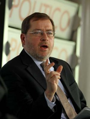 The man behind the Republican Party's tax policies ... Grover Norquist.