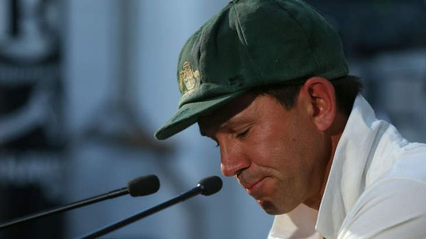 Ricky Ponting announces his retirement.