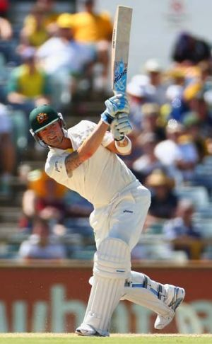 """Sublime"" ... Michael Clarke bats on day four."