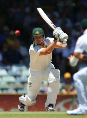 New role ... Shane Watson is set to bat at No.4.