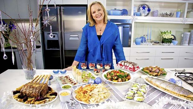 "Try this at home ... Lyndey Milan aims to deliver ""high-impress, low-stress"" options in her Christmas special."