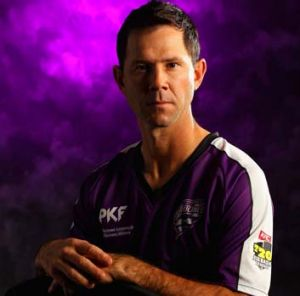 Ricky Ponting has been struck ill ahead of the Hobart Hurricanes' first Big Bash fixture. By the looks of this publicity ...