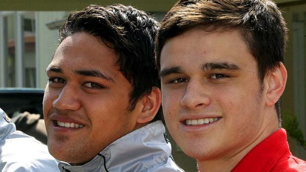 Teen signings ... Piki Te Ora Rogers, left, is set to be flown over from New Zealand each weekend to play SG Ball ...