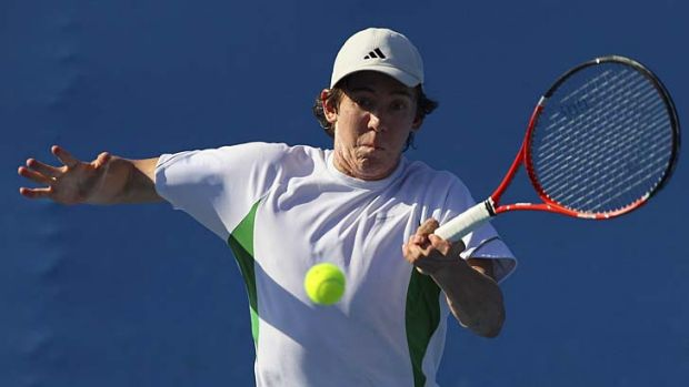 Aiming high … John-Patrick Smith has his sights on what was Bernard Tomic's Davis Cup spot.