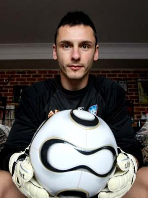 Sky's the limit … after a long struggle with a mysterious illness, Vedran Janjetovic aims to become Sydney FC's ...