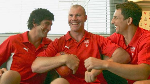How much of Sydney's 2005 glory can be apportioned to a then groundbreaking triumvirate of Brett Kirk, Barry Hall, and ...