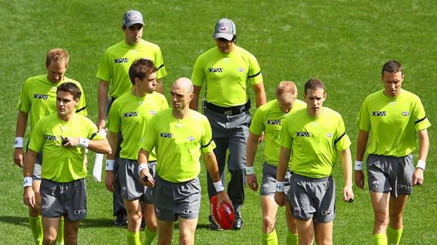 Full-time umpires would be paid more than their part-time counterparts but would be subjected to the same rigorous ...