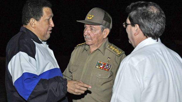 Cancer relapse ... Hugo Chavez will return to Cuba for more treatment.