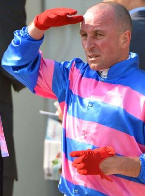 Jim Cassidy after riding Sea Siren in The Hong Kong Sprint.