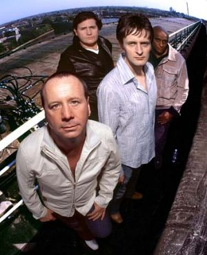 Simple Minds ... before they were big, they were driven by electronics, by a kind of alienation and by punk.