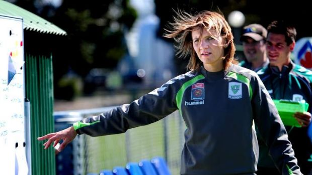 Canberra United coach Jitka Klimkova has been impressive during her time in the W-League.