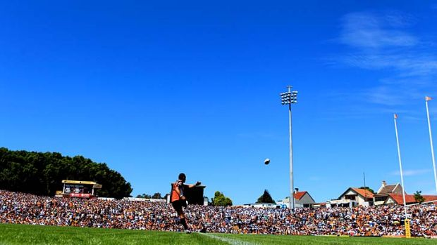 Memories ... Leichhardt Oval was packed for the opening round of the season this year, but it has been suggested that ...