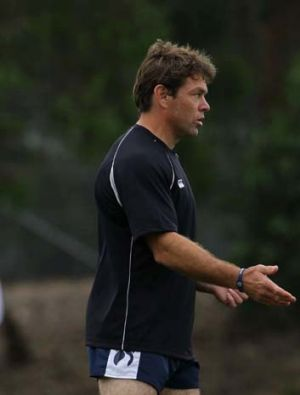 Brett Kimmorley ... Canberra's new assistant coach.