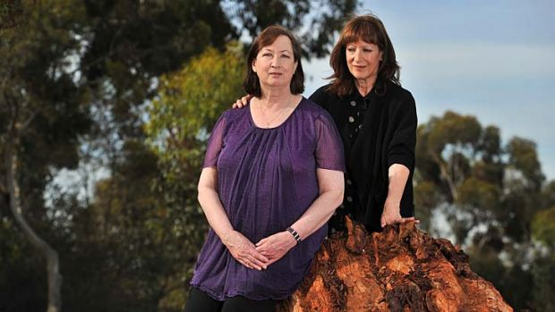 Free: Josephine Greensill (left) with her sister Annette Toohey. The Court of Appeal has quashed Ms Greensill's ...