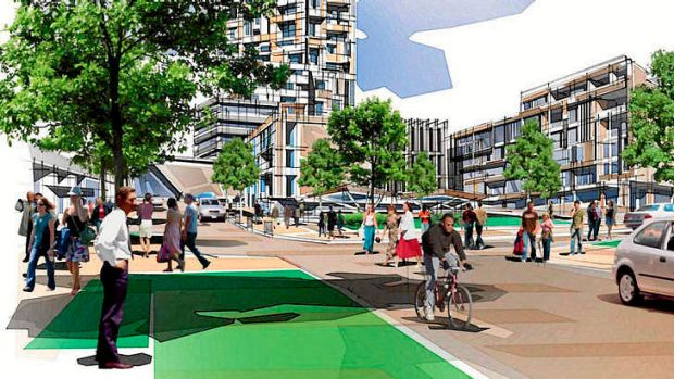 The $1.4 billion redevelopment would include more than 2000 apartments and townhouses at the site.