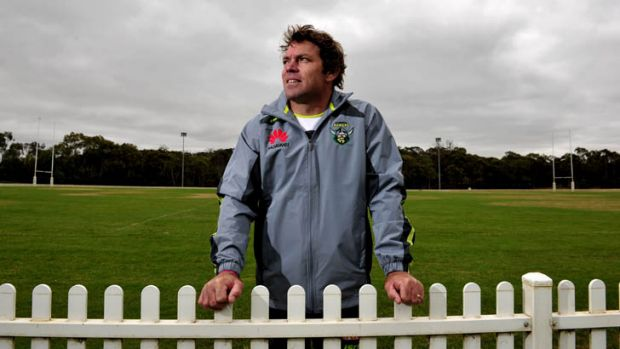 "Canberra Raiders new assistant Coach Brett Kimmorley says the new role presents a ""good challenge""."