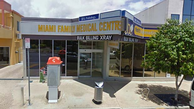 Hacked ... Miami Family Medical Centre on the Gold Coast