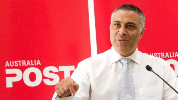 Australia Post boss Ahmed Fahour.