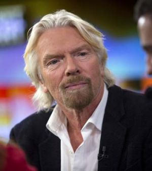 Stepped in … Richard Branson.