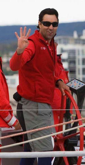 Wild Oats XI skipper Mark Richards.