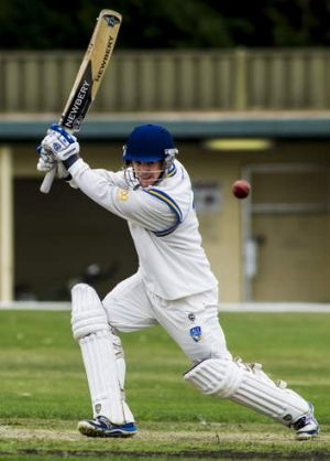 Aaron Ayre top scored with 61.