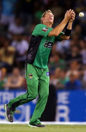 Humiliated ... Warne had a night to forget.