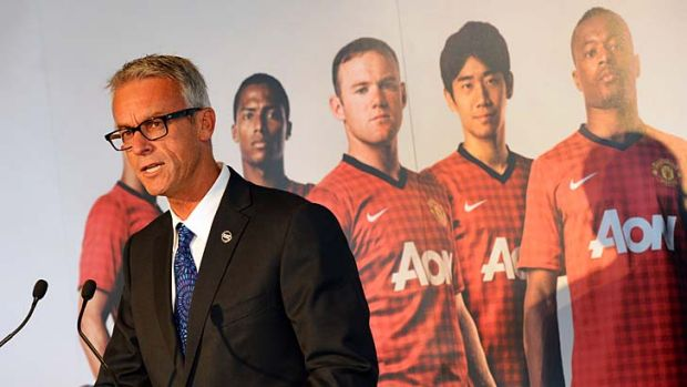 """I think it's massive to have the most famous football club in the world coming out here"""" ... FFA CEO David Gallop."""