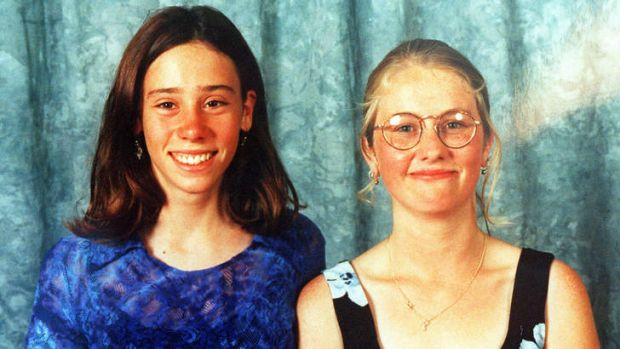 Victims Lauren Barry and Nichole Collins.