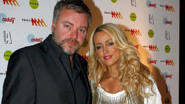 Slump ... Kyle Sandilands and Jackie O.