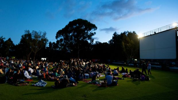 The Opel Moonlight Cinema in Kings Park has released its 2012/13 season schedule