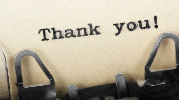 "Should you say ""thank you"" for a sexual favour?"