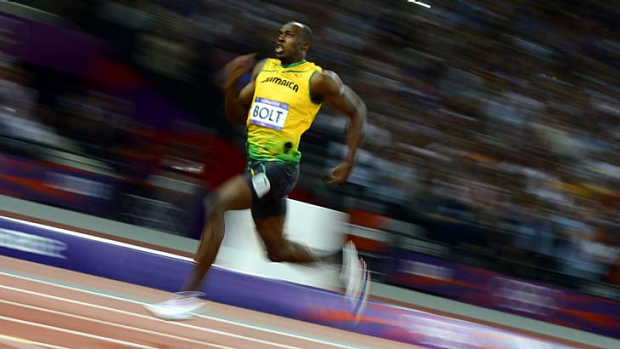 Usain Bolt ... topped 80,000 tweets per minute when he won the 200 metre final.