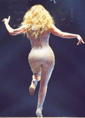 Jennifer Lopez at Rod Laver Arena.