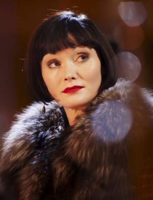 Grateful for Essie Davis as Miss Fisher.