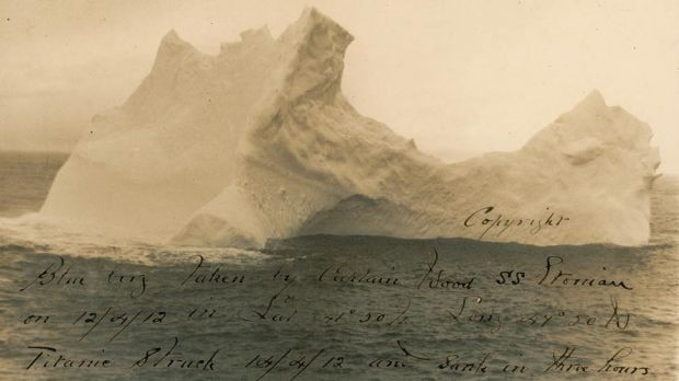 Could this iceberg be the one that caused the Titanic disaster?