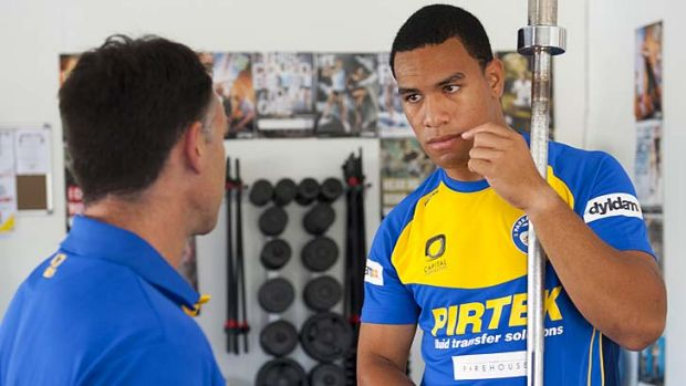 Disciplined ... William Hopoate, right, is living the life of a strict Mormon, unlike his wayward younger sibling, Jamil.